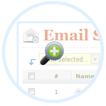 Add any number of local or remote email delivery providers